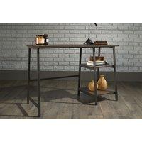Annex Industrial Bench Desk (Smoked Oak)