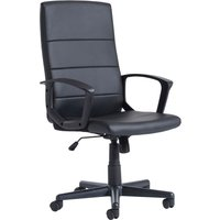 Clarence High Back Executive Leather Chair