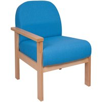 Brito Reception Chair With Right Hand Arm. Find Loads More Colours, Materials & Styles Online - Buy Office Furniture Online