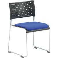 Chabas Poly Occasional Chair With Seat Pad. Find Loads More Colours, Materials & Styles Online - Buy Office Furniture Online