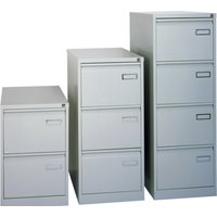Grey Bisley Executive Psf Filing Cabinet. Find Loads More Colours, Materials & Styles Online - Buy Office Furniture Online