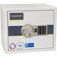 Burton Eurovault Aver S2 Size 1 Safe With Electric Lock (11ltrs). Find Loads More Colours, Materials & Styles Online - Buy Offic