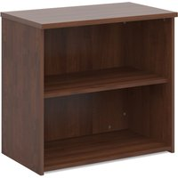 Brown Wood Shelved Bookcase - Tully. Find Loads More Colours, Materials & Styles Online - Buy Office Furniture Online