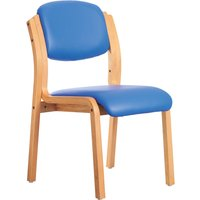 Grey Chaucer Chair (Microbial Vinyl). Find Loads More Colours, Materials & Styles Online - Buy Office Furniture Online