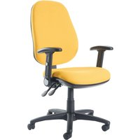 Red Gilmour Extra High Back Operator Chair With Folding Arms. Find Loads More Colours, Materials & Styles Online - Buy Offic