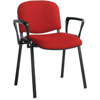 Green Volta Conference Chair With Arms (Black Frame). Find Loads More Colours, Materials & Styles Online - Buy Office Furnit