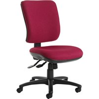 Pink Polnoon High Back Operator Chair No Arms. Find Loads More Colours, Materials & Styles Online - Buy Office Furniture Onl