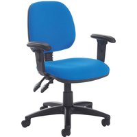 Yellow Point Medium Back Operator Chair With Height Adjustable Arms. Find Loads More Colours, Materials & Styles Online - Bu