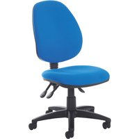 Brown Point High Back Operator Chair No Arms. Find Loads More Colours, Materials & Styles Online - Buy Office Furniture Onli