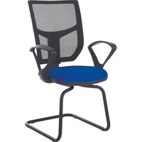 Red Gordy Mesh Back Visitor Armchair. Find Loads More Colours, Materials & Styles Online - Buy Office Furniture Online