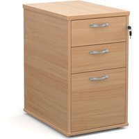 Brown Wood Desk High Locakable Drawer Pedestals - Accepts Foolscap Files & A4 Paper. Find Loads More Colours, Materials &amp