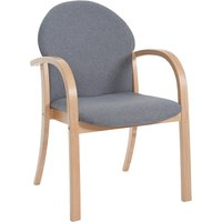 Brown Venta Armchair. Find Loads More Colours, Materials & Styles Online - Buy Office Furniture Online