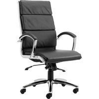 Andorra High Back Leather Faced Executive Chair. Find Loads More Colours, Materials & Styles Online - Buy Office Furniture Onlin