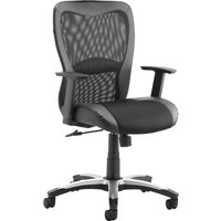 Black Canica Mesh Back Operator Chair. Find Loads More Colours, Materials & Styles Online - Buy Office Furniture Online