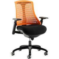 Orange Warp Black Frame Orange Mesh Back Operator Chair. Size: 53/50/50. Find Loads More Colours, Materials & Styles Online