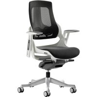 Grey Zephyr Mesh Back Executive Operator Chair. Size: 52/48/52. Find Loads More Colours, Materials & Styles Online - Buy Off