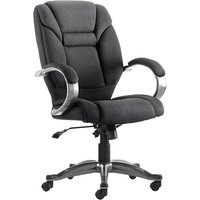 Black Fiji Fabric Executive Chair Black. Size: 55/50/50. Find Loads More Colours, Materials & Styles Online - Buy Office Fur