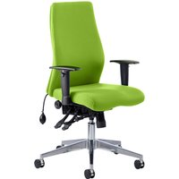 Green Brechin High Back Fabric Executive Chair. Find Loads More Colours, Materials & Styles Online - Buy Office Furniture On