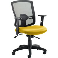 Yellow Belarus 2 Lever Mesh Back Operator Chair. Find Loads More Colours, Materials & Styles Online - Buy Office Furniture O
