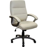 Cream Telford Cream Executive Chair. Find Loads More Colours, Materials & Styles Online - Buy Office Furniture Online
