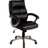 Black Telford Black Executive Chair. Size: 53/49/50. Find Loads More Colours, Materials & Styles Online - Buy Office Furnitu