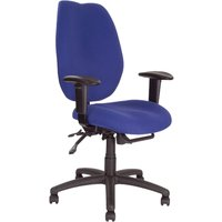 Blue 24 Hour High Back Ergonomic Operator Chair. Size: 54/52/49. Find Loads More Colours, Materials & Styles Online - Buy Of