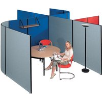 Black Busyscreen Multi Functional Screen System. Find Loads More Colours, Materials & Styles Online - Buy Office Furniture O