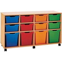 Pop 12 Variety Tray Storage Unit. Find Loads More Colours, Materials & Styles Online - Buy Office Furniture Online