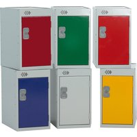 Blue Quarto Lockers. Find Loads More Colours, Materials & Styles Online - Buy Office Furniture Online
