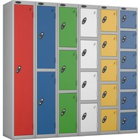 Red Probe Everyday Lockers. Find Loads More Colours, Materials & Styles Online - Buy Office Furniture Online