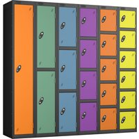 Probe autumn colour lockers with black body