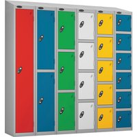 Probe Everyday Lockers With Sloping Top. Find Loads More Colours, Materials & Styles Online - Buy Office Furniture Online