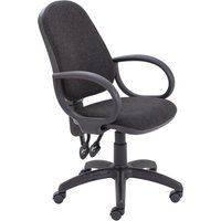 Grey Serene 2 Lever Operator Chair. Find Loads More Colours, Materials & Styles Online - Buy Office Furniture Online