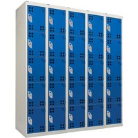 Qmp Tool Charging Locker (Perforated Doors). Find Loads More Colours, Materials & Styles Online - Buy Office Furniture Onlin