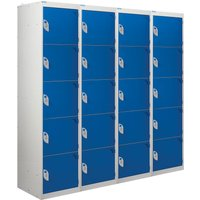 QMP tool charging locker (solid doors)