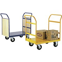 Platform Truck With Twin Handle. Find Loads More Colours, Materials & Styles Online - Buy Office Furniture Online