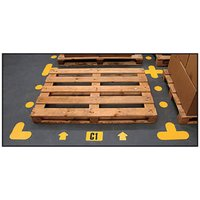 Warehouse Floor Signal Markers. Find Loads More Colours, Materials & Styles Online - Buy Office Furniture Online