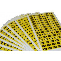 Self Adhesive Numbers 9.5mm High (Pack Of 168). Find Loads More Colours, Materials & Styles Online - Buy Office Furniture On