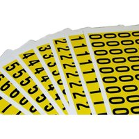 Self Adhesive Numbers 19mm High (Pack Of 36). Find Loads More Colours, Materials & Styles Online - Buy Office Furniture Onli