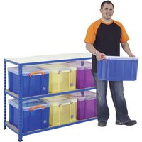 Rapid 2 Storage Bay With 6 X 35 Litre Really Useful Boxes. Find Loads More Colours, Materials & Styles Online - Buy Office F