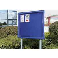 Weathershield Freestanding Outdoor Showcase. Find Loads More Colours, Materials & Styles Online - Buy Office Furniture Online