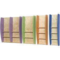 Eco Friendly Wall Mounted Leaflet Dispenser. Find Loads More Colours, Materials & Styles Online - Buy Office Furniture Onlin