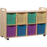 Playscapes Storage Unit With 8 Jumbo Trays. Find Loads More Colours, Materials & Styles Online - Buy Office Furniture Online