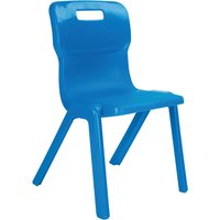 Orange Titan One Piece Classroom Chair. Find Loads More Colours, Materials & Styles Online - Buy Office Furniture Online