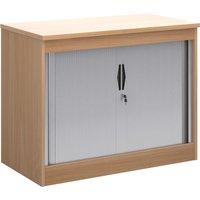 Multi Storage Tambour Cupboards, 102wx55dx80h (cm), Beech