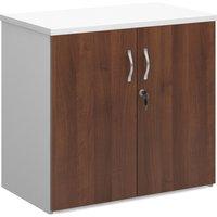 Duo Double Door Cupboard, 1 Shelf - 80wx47dx74h (cm), Duo