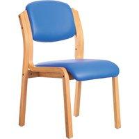Chaucer Chair (Microbial Vinyl), Blue