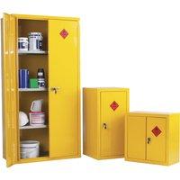 Heavy Duty Hazardous Substance Storage Cupboards, Yellow