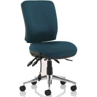 Praktikos Medium Back Posture Operator Chair, Maringa Teal