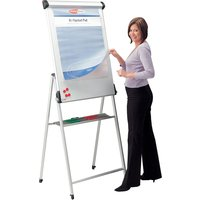 Conference Pro Flipchart Easel, White